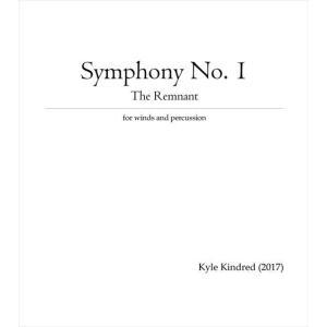 (楽譜) 交響曲第1番「レムナント」 / 作曲:カイル・キンドレッド (吹奏楽)(フルスコアのみ)|wbpplus