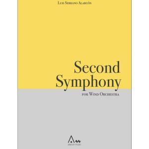 (楽譜) 交響曲第2番 / 作曲:ルイス・セラーノ・アラルコン (吹奏楽)(フルスコアのみ)|wbpplus