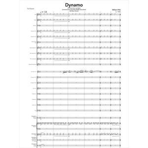 (楽譜) ダイナモ / 作曲:ウィル・ピッツ (吹奏楽)(スコア+パート譜セット)|wbpplus