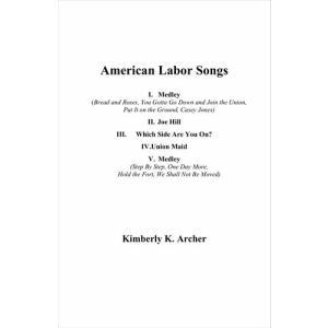 (楽譜) アメリカの労働者の歌 / 作曲:キンバリー・アーチャー (吹奏楽)(スコア+パート譜セット)|wbpplus