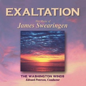 (CD) エグザルテーション(歓喜の序曲):ジェイムズ・スウェアリンジェン作品集 / 演奏:ワシントン・ウインズ (吹奏楽)|wbpplus