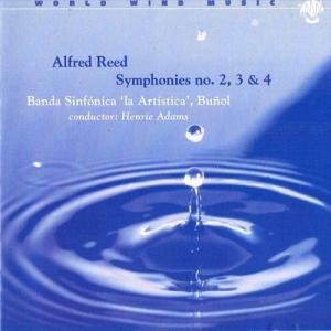 (CD) アルフレッド・リード交響曲集 / 指揮:ヘンリー・アダムス / 演奏:ブニョール・ラ・アルティスティカ交響吹奏楽団 (吹奏楽) wbpplus