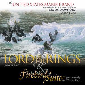 (CD-R) 交響曲第1番「指輪物語」&バレエ組曲「火の鳥」 / 指揮:ジョン・R・ブージョワー / 演奏:アメリカ海兵隊バンド (吹奏楽)|wbpplus