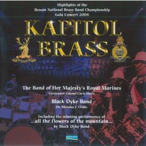 (CD) キャピトル・ブラス:全英ブラスバンド選手権2004 ガラ / 演奏:ブラック・ダイク・バンド、イギリス海兵隊バンド|wbpplus