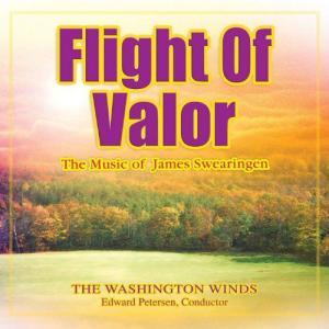 (CD) 勇敢なる飛行:ジェイムズ・スウェアリンジェン作品集 / 指揮:エドワード・ピーターセン / 演奏:ワシントン・ウインズ (吹奏楽) wbpplus