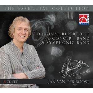 (CD8枚組) ヤン・ヴァンデルロースト・エッセンシャル・コレクション(日本語解説付)  (吹奏楽)|wbpplus
