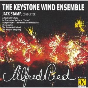 (CD) アルフレッド・リード作品集 / 指揮:ジャック・スタンプほか / 演奏:キーストン・ウインド・アンサンブル (吹奏楽) wbpplus