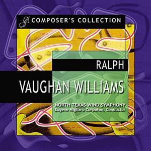 (CD2枚組) レイフ・ヴォーン・ウィリアムズ作品集 / 指揮:ユージン・コーポロン / 演奏:ノース・テキサス・ウインド・シンフォニーほか (吹奏楽)|wbpplus