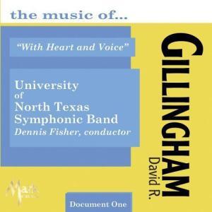 (CD) ウィズ・ハート・アンド・ヴォイス:デイヴィッド・ギリングハム作品集 vol.1 / 演奏:...