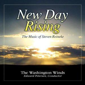 (CD) ニュー・デイ・ライジング:スティーブン・ライニキー作品集 / 指揮:エドワード・ピーターセン / 演奏:ワシントン・ウインズ (吹奏楽) wbpplus