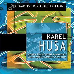 (CD2枚組) カレル・フサ作品集 / 指揮:ユージン・コーポロン / 演奏:ノース・テキサス・ウインド・シンフォニー (吹奏楽)|wbpplus
