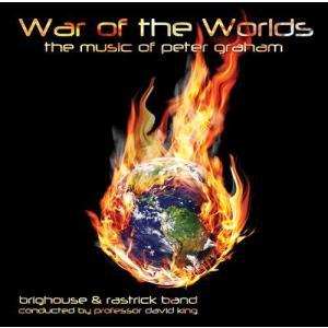 (CD) 宇宙戦争:ピーター・グレイアム ブラスバンド作品集 / 指揮:デヴィッド・キング / 演奏:ブリッグハウス&ラストゥリック・バンド (ブラスバンド)|wbpplus