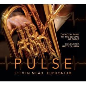 (CD) パルス / 指揮:マティ・シリッセン / 演奏:スティーヴン・ミード、王立ベルギー空軍軍楽隊 (ユーフォニアム) wbpplus