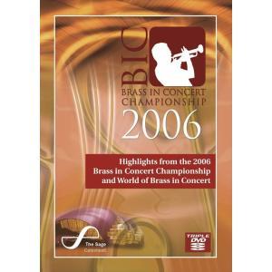 (DVD3枚組) ブラス・イン・コンサート選手権2006 / 指揮:スティーヴン・ミードほか / 演奏:グライムソープ・コリアリー・バンドほか (ブラスバンド)|wbpplus