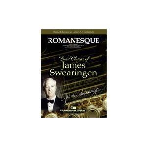 (楽譜) ロマネスク / 作曲:ジェイムズ・スウェアリンジェン (吹奏楽)(スコア+パート譜セット) wbpplus