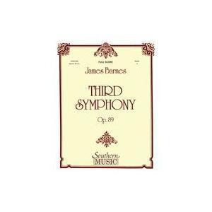 (楽譜) 交響曲第3番 / 作曲:ジェイムズ・バーンズ (吹奏楽)(フルスコアのみ)|wbpplus