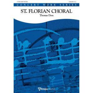 (楽譜) 聖フロリアン・コラール / 作曲:トーマス・ドス (吹奏楽)(スコア+パート譜セット) wbpplus