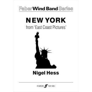 (楽譜) イーストコーストの風景 III. ニューヨーク / 作曲:ナイジェル・ヘス (吹奏楽)(フルスコアのみ)|wbpplus