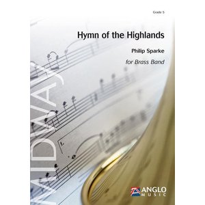 (楽譜) ハイランド賛歌組曲 (ブラスバンド版全曲版) / 作曲:フィリップ・スパーク (ブラスバンド)(スコア+パート譜セット)|wbpplus