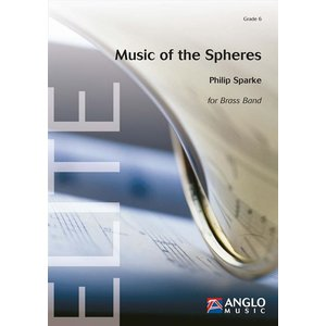 (楽譜) 宇宙の音楽 (ブラスバンド版) / 作曲:フィリップ・スパーク (ブラスバンド)(スコア+パート譜セット)|wbpplus