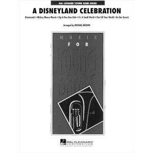 (楽譜) ディズニーランド・セレブレーション / 編曲:マイケル・ブラウン (吹奏楽)(フルスコアのみ)|wbpplus
