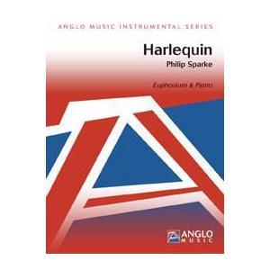 (楽譜) ハーレクイン / 作曲:フィリップ・スパーク (ユーフォニアム&ピアノ)(スコア+パート譜セット)