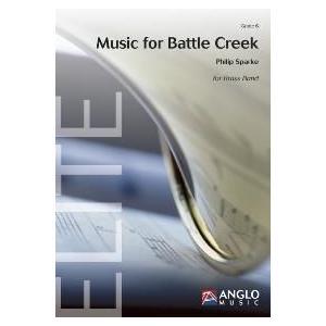 (楽譜) バトル・クリークへの音楽 / 作曲:フィリップ・スパーク (ブラスバンド)(スコア+パート譜セット)|wbpplus