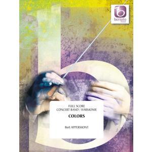 (楽譜) トロンボーン協奏曲「カラーズ」 / 作曲:ベルト・アッペルモント (吹奏楽)(フルスコアのみ)|wbpplus