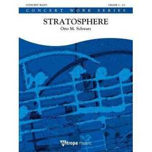 (楽譜) ストラトスフィア(成層圏) / 作曲:オットー・M・シュヴァルツ (吹奏楽)(スコア+パート譜セット) wbpplus
