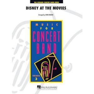 (楽譜) ディズニー・アット・ザ・ムービー / 編曲:ジョン・ヒギンズ (吹奏楽)(フルスコアのみ)|wbpplus