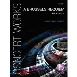 (楽譜) ブリュッセル・レクイエム / 作曲:ベルト・アッペルモント (吹奏楽)(フルスコアのみ)|wbpplus
