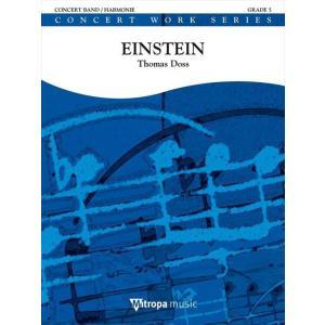 (楽譜) アインシュタイン / 作曲:トーマス・ドス (吹奏楽)(スコア+パート譜セット)|wbpplus