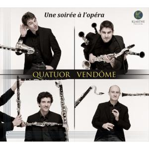 (CD)オペラ座の夜 / 演奏:ヴァンドーム四重奏団 (クラリネット4重奏)|wbpplus