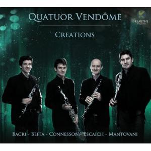 (CD)クリエイションズ / 演奏:ヴァンドーム四重奏団 (クラリネット4重奏)|wbpplus