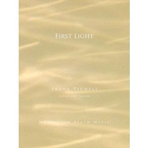 (楽譜) ファースト・ライト / 作曲:フランク・ティケリ (吹奏楽)(スコア+パート譜セット) wbpplus