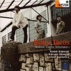 (CD/SACD Hybrid) ブラームス:ホルン三重奏曲 / 演奏:R.バボラーク、清水和音、L.ナストゥリカ (ホルン、ピアノ、ヴァイオリン )|wbpplus