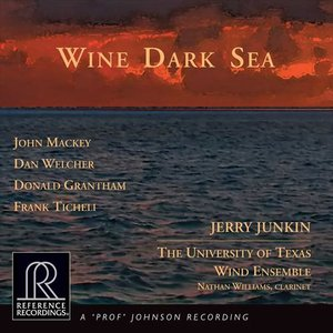 (CD) ワイン・ダーク・シー / 指揮:ジェリー・ジャンキン / 演奏:テキサス大学ウィンド・アンサンブル (吹奏楽)|wbpplus
