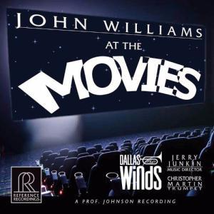 (HDCD / SACD Hybrid) ジョン・ウィリアムズ・アット・ザ・ムーヴィーズ / 演奏:ダラス・ウィンド・シンフォニー (吹奏楽) wbpplus
