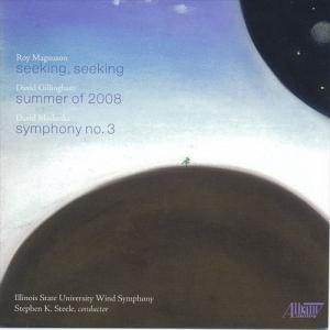 (CD) マグナソン・ギリングハム・マスランカ / 指揮:スティーヴン・スティール / 演奏:イリノイ州立大学ウインド・シンフォニー (吹奏楽)|wbpplus