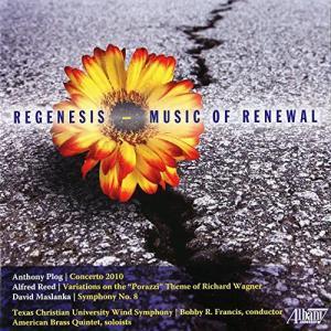 (CD) 再生の音楽 / 演奏:アメリカン・ブラス・クインテット、テキサス・クリスチャン大学ウィンド・シンフォニー (吹奏楽、金管アンサンブル)|wbpplus