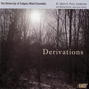 (CD) デラヴェイションズ / 指揮:グレン・D・プライス / 演奏:カルガリー大学ウィンド・アンサンブル (吹奏楽)|wbpplus