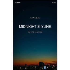 (楽譜) ミッドナイト・スカイライン / 作曲:ジョシュ・トレンタデュー (吹奏楽)(スコア+パート譜セット) wbpplus