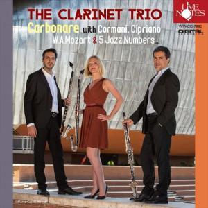 (CD) モーツァルト!&ジャズ! / 演奏:カルボナーレ・クラリネット・トリオ (クラリネット アンサンブル)|wbpplus