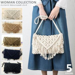 商品名:ハンドメイド クロシェショルダーバッグ Handmade croche shoulder b...