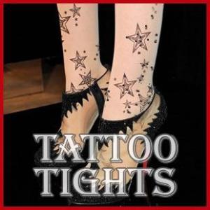 タトゥーストッキング タトゥー ストッキング  タトゥータイツ メール便送料無料|wc-y