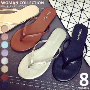 商品名:フェイクレザービーチサンダル Fake leather beach sandals   (サ...