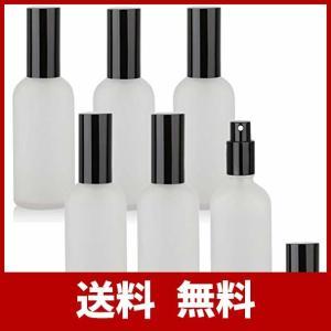 30ML精油瓶 スプレー ボトル 遮光スポイト瓶 6本セットガラス製 アロマオイル エッセンシャルオ...