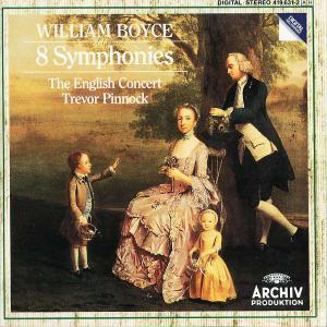 William Boyce - 8 Symphonies (English Concert/Pinn...