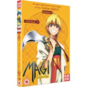 マギ The Kingdom of Magic 1 DVD (UK版)|wdplace2