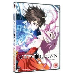 ギルティクラウン Part 1 DVD (UK版) wdplace